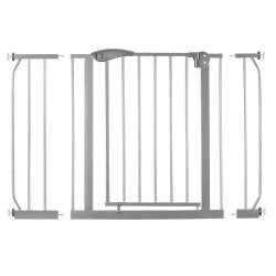 Metaliniai apsauginiai varteliai 75-115 cm., pilki
